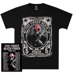 Five Finger Death Punch Sucker Punch 2012 Tour T-Shirt