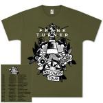 Frank Turner Recovery Dateback T-Shirt