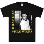 Brandon Flowers Diamond Photo T-Shirt