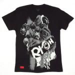 Rich Gang Rose Paint T-Shirt