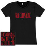 Soundgarden Nudedragons Show Girlie T-Shirt