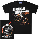 Green Day Summer 2010 Montreal Event T-Shirt 08/21/10