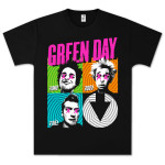 Green Day Spiral 4 T- Shirt