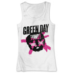 Green Day Crossed Skull Tank Top