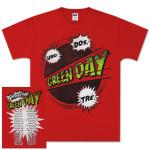 Green Day Power Up Tour T-Shirt