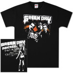 Green Day  Montreal Event T-Shirt