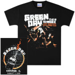 Green Day Summer 2010 Chicago Event T-Shirt – 08/07/10