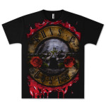 Guns N' Roses Jumbo Bloody Bullet T-Shirt