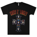 Guns N' Roses Cross Arch T-Shirt