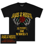 Guns N' Roses Skeleton Hands & Chains T-Shirt