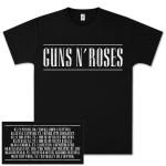 Guns N' Roses Classic Logo T-Shirt