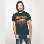 WELCOME TO THE JUNGLE VEGAS SIGN TEE