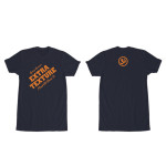 George Harrison Extra Texture Navy T-Shirt