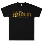 Hellwin Amplification Gold Logo T-Shirt