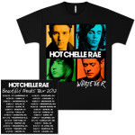 Hot Chelle Rae Whatever Album Tour T-Shirt