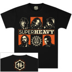 SuperHeavy Band Grid T-Shirt