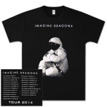 Imagine Dragons Moon Man Tour Dateback T-Shirt