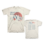 Imagine Dragons Mountains Tour Dateback T-Shirt
