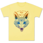 Imagine Dragons Wolf Yellow T-Shirt