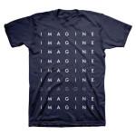 Repeat Logo Navy Tour T-Shirt
