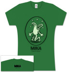 Mika Green Oval Frog Women's Tee