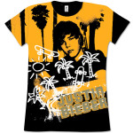 Justin Bieber Palm Trees Girls T-Shirts