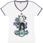 Justin Bieber Geometric Girls T-Shirt