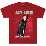 Justin Bieber Glitter Mistletoe T-Shirt