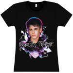 Justin Bieber Hearts and Arrows Babydoll