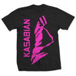Kasabian Ultraface Pink T-Shirt