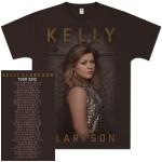 Kelly Clarkson Glitter Photo Tour T-Shirt
