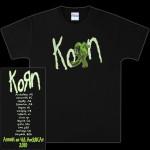 Korn Zombie Slam Tour T-Shirt