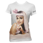 Katy Perry Half Tone Girls Fitted T-Shirt