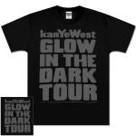 Kanye West Reflective Ink Glow Tour Tee