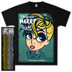 Lady Gaga Marry Cartoon Tour T-Shirt