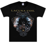 Lacuna Coil Dual Skulls Tee
