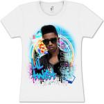Lil Twist Grafitti Splash Girlie T- Shirt