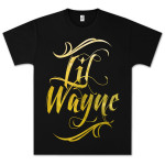 LiL Wayne Script Logo T-Shirt