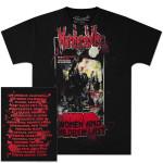 Murderdolls 80's Horror Poster Tour T-Shirt