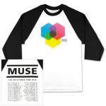 Muse 3/4 Sleeve Exosynthesis DateBack Raglan