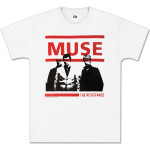 Muse Resistance White T-Shirt