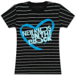 NKOTB Striped Babydoll T-Shirt