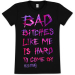 Nicki Minaj Bad Bitches Girlie T-Shirt