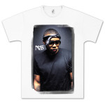 Nas Stamp Smudge T-Shirt