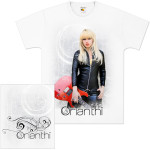 Orianthi Leather & Strings T-Shirt
