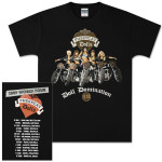 Pussycat Dolls 2009 World Tour Motorcyle T-Shirt