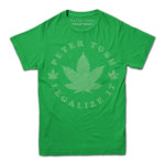 Peter Tosh Legalize It Leaf T-Shirt