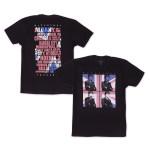 Paul McCartney Four Square Flag T-Shirt