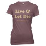 Paul McCartney Live and Let Die Juniors Tee