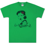 The Pogues Green Tattoo T-Shirt